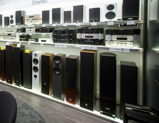 Pierwszy zestaw stereo